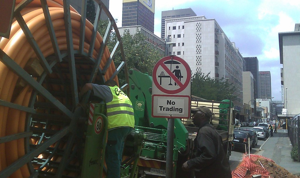 Gas pipe line renovation - Infrastructure upgrade Egoli Gas Johannesburg CBD 2