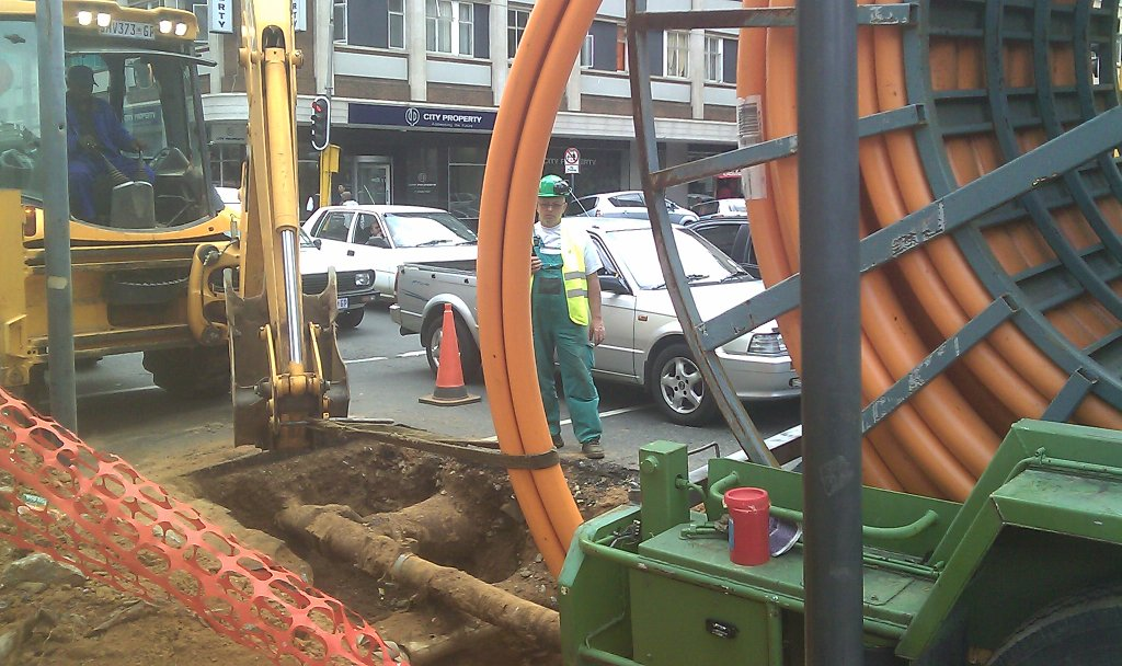 Gas pipe line renovation - Infrastructure upgrade Egoli Gas Johannesburg CBD 3