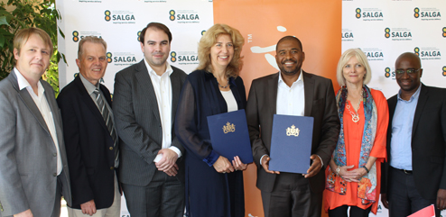 Centre of Expertise hand over to SALGA 3